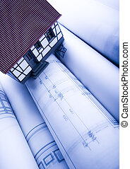 Architecture plan  & home