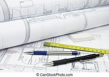 architecture plans and tools