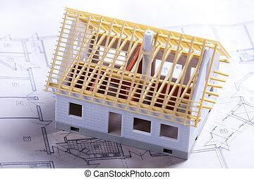 Architecture project building