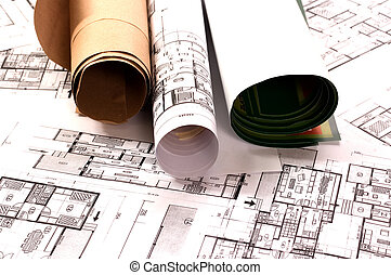 Architecture project - Architecture planning of interiors...