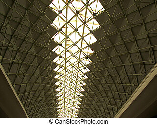 Architecture Roof of Dome Tunnel Structure with Natural...