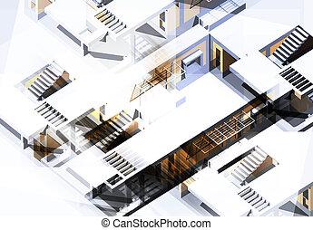 architecture, texture, résumé