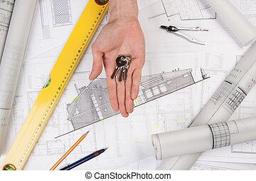 Architecture tools on blueprints