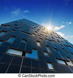 architectuur, abstract, kantoor