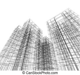 architectuur, abstract
