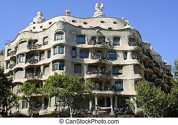 architectuur, barcelona