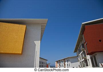 architectuur, moderne