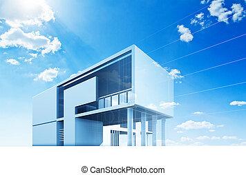 architectuur, plan