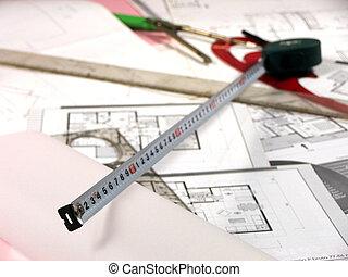 architectuur, planning