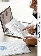 architekci, zbudowanie, planowanie, budżet, biuro