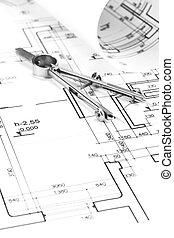 architekt, plany