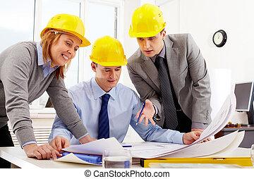 architekten, drei