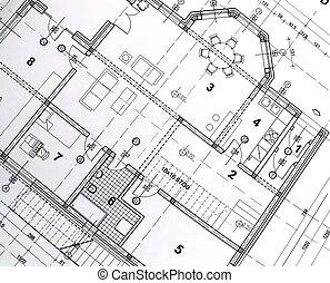 architektoniczny, plan