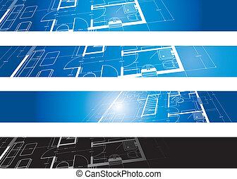 architektoniczny, tło