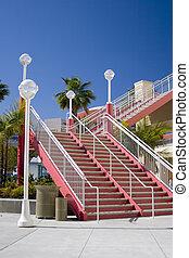 architektonisch, treppe