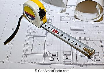architektonische lichtpausen