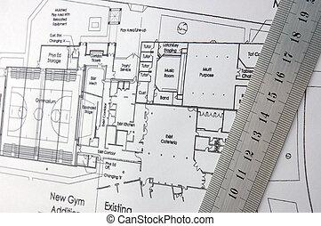 architektonische zeichnungen