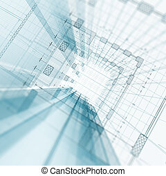 architektur, baugewerbe