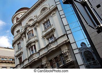 architektur, belgrad