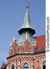 architektur, -, details