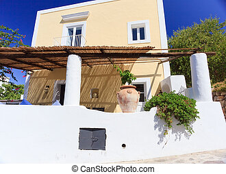 architektur, in, panarea