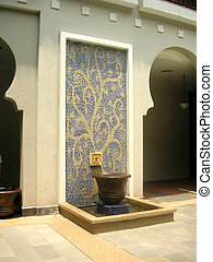 architektur, marokkanisch