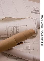 architektur, projekt