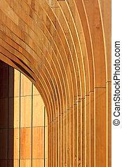 architektura, abstraktní, grafické pozadí