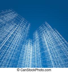 architektura, abstraktní