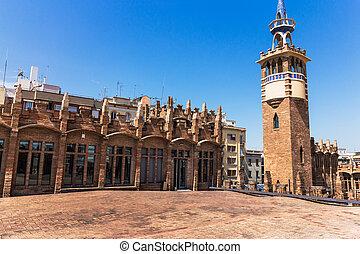 architektura, barcelona