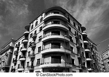 architektura, italský