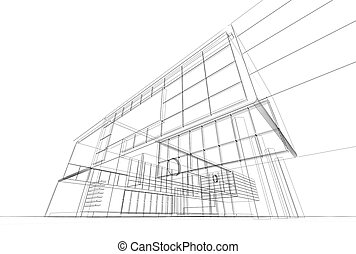 architektura, modrák
