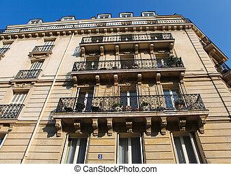 architektura, paryżanin