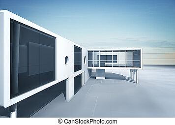 architektura, plán