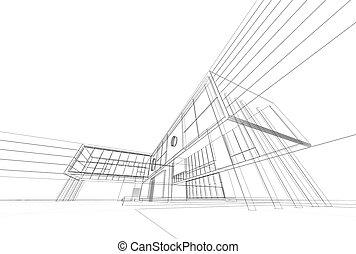 architektura, plan
