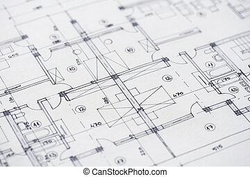 architektura, plany
