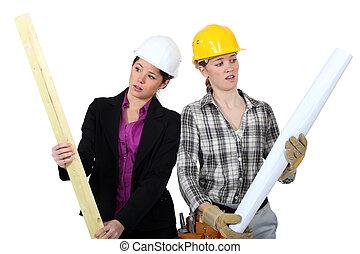 architetto, costruttore, commercio