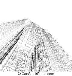 architettura, cianografia