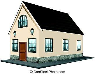 Disegno architettura illustrazione 3d clip art cerca for Disegno della casa di architettura