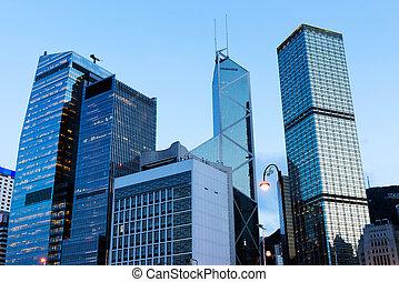architettura, in, hong kong