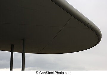 architettura moderna, dettaglio