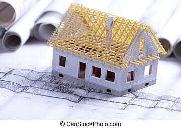architettura, progetto, costruzione