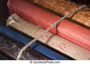 Archival documents - Archival books in a book-depository are...