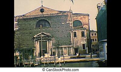 Archival Venice San Marcuola and Casino - Ancient building...