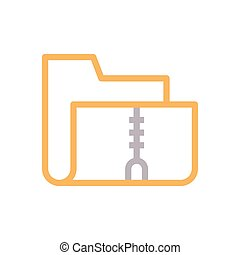 archive  color line icon