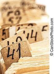 Archive file folders in drawer