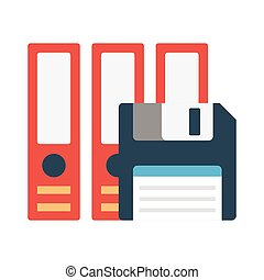archive flat icon