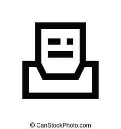 archive pixel perfect icon