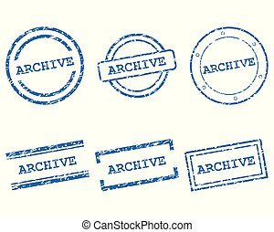 Archive stamps