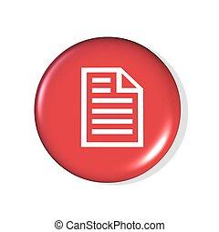 archivo, icono